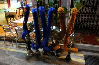 Sesame street hookah pipes?