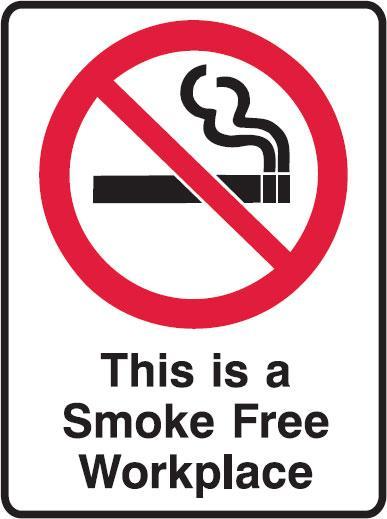 smoke free workplace